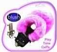 Playtime Cuffs  - Pink fur