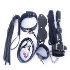 Black 7 Piece Bondage Kit