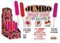 Jumbo Fruit Flavor Cock Pops Display 6pcs